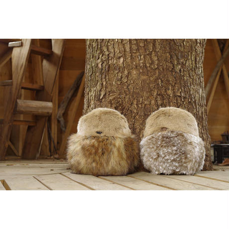 SOFT SCULPTURE-FAUX FUR MIX (BOUBOU)