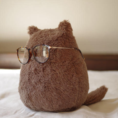 SOFT SCULPTURE-WASHABLE WOOL ALPACA FUR(BROWN)