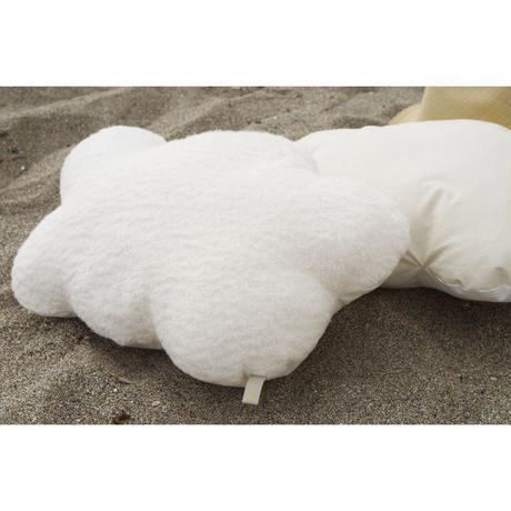 SOFT SCULPTURE-ORGANIC COTTON BRUSHED PILE (NATURAL)