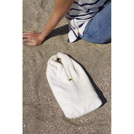 TWIST BAG-ORGANIC COTTON BRUSED PILE