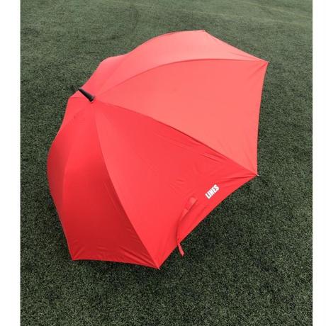 ファン付き日傘(赤)