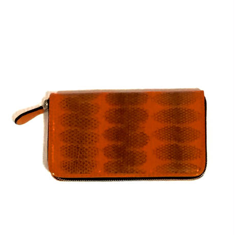 TANGO 横長財布・オレンジ柄付き