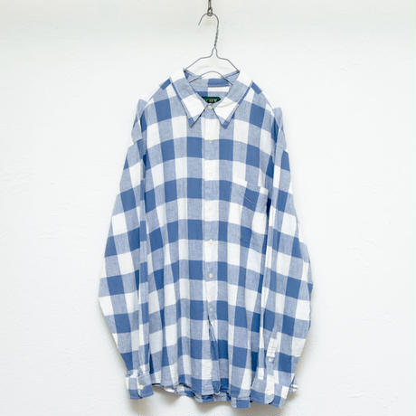 90s Jcrew Checked  shirt