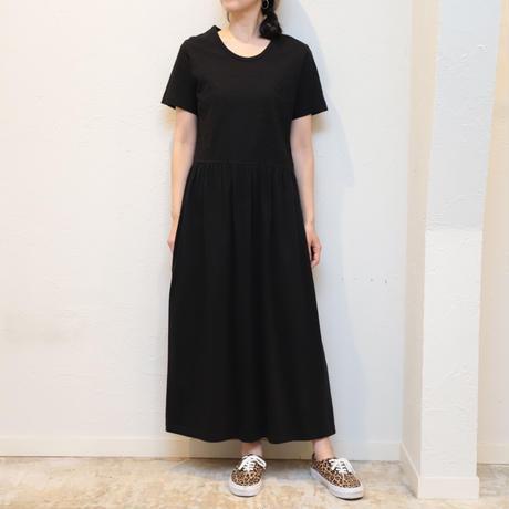 Black S/S one-piece
