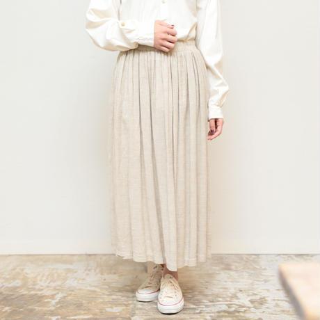 OLD linen skirt