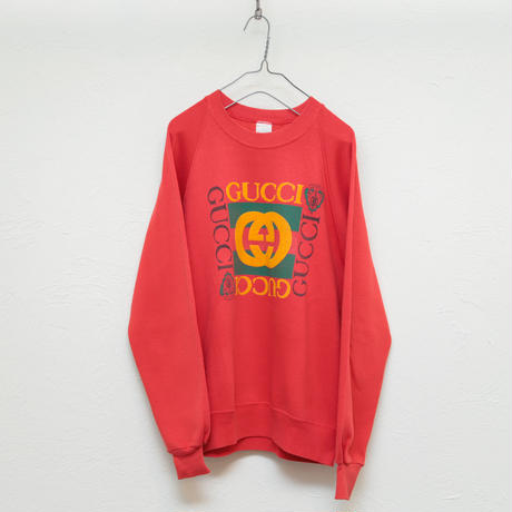 80s OLD GUCCI  Bootleg sweat