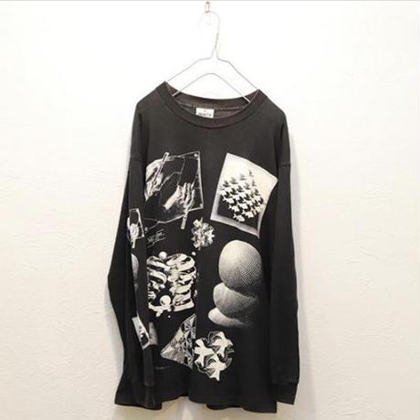 90s M.C.Escher long sleeve t-shirt