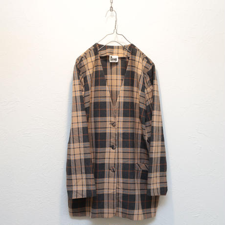 Euro checked  jacket