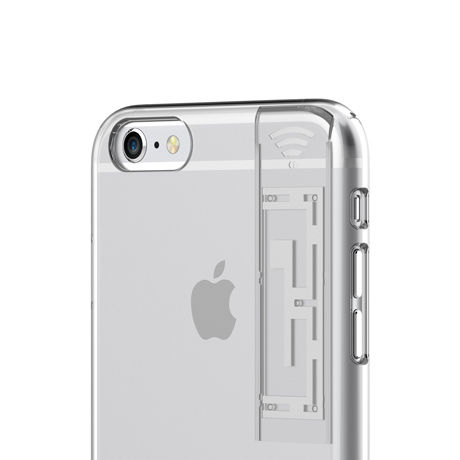 LINKASE CLEAR (with WIFI ) for iPhone 6+/6s+・WIFIシグナル拡張iPhoneケース