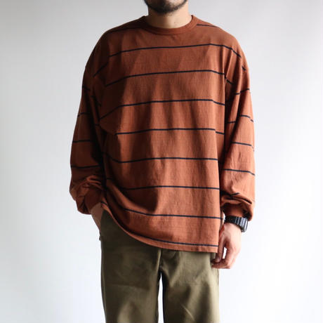 UNIVERSAL STYLE WEAR / ピグメントボーダーTEE