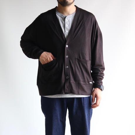 amne / wool ROUND cardigan
