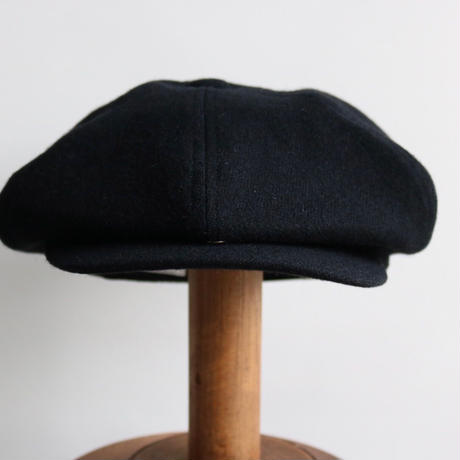 cableami / VINTAGE WOOL FLANNEL CASQUETTE