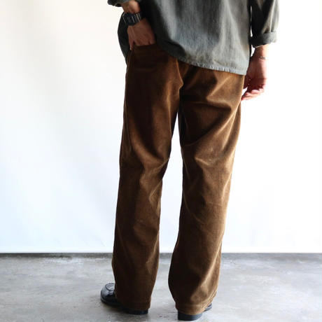 FOB FACTORY / WIDE WALE CORDUROY PANTS