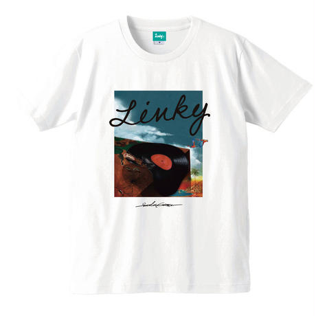 LINKY Record T-shirt(White)
