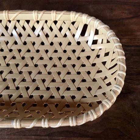 大分 竹製 パンかご (亀甲編み)