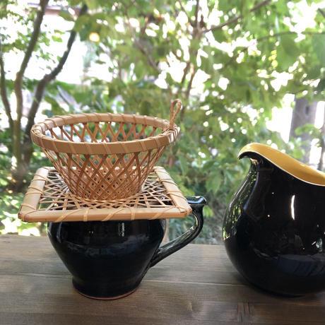 佐渡 竹製 コーヒードリッパー&ホルダーセット