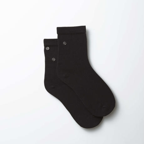 ソックス型化粧品/ブラック/ワッペン用アタッチメント3個対応