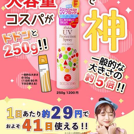 【セットでお得!】リシャン 大容量UVスプレー (フルーティフローラルの香り)250g 3本セット