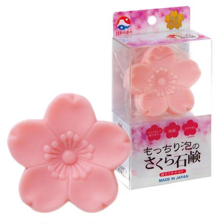 日本の恵み もっちり泡のさくらの石鹸 (さくらの香り)