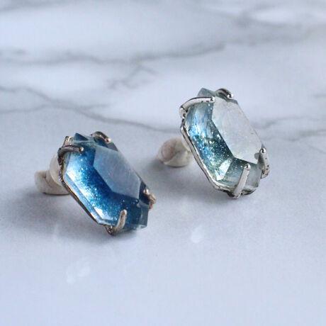 Crystal Indigo ピアスStuds earrings  Single
