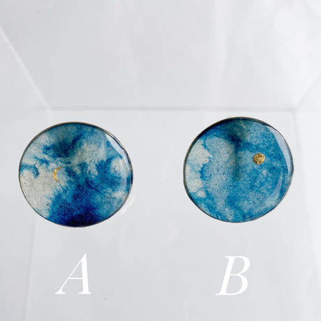 Indigo  Earrings 【Large】イヤリング