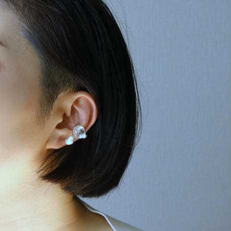 Pearl Earcuff Single