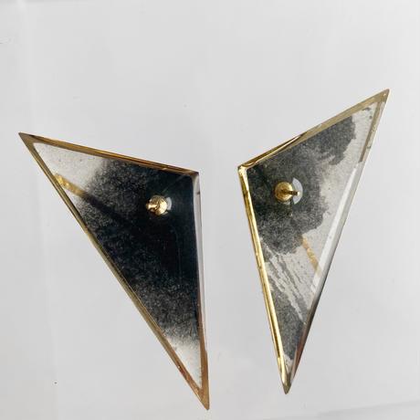 Sumi studs earrings 【Large】ピアス