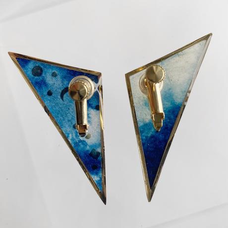 Indigo Earrings【Large】イヤリング
