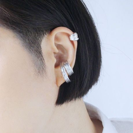 Saturn earcuff small