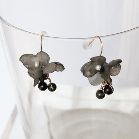 Botanical  earrings pair