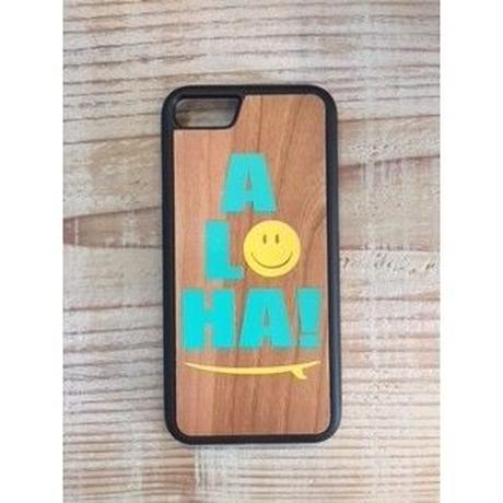 iphone case ラバーケース【ALOHA】