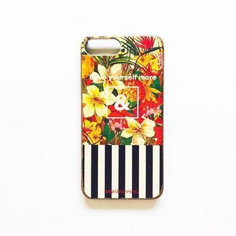 iphone case ラバー【&】