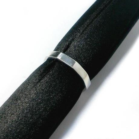 10角 シンプル シルバー リング 刻印可能