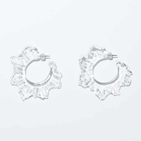 Water Frill フックピアス クリア セット