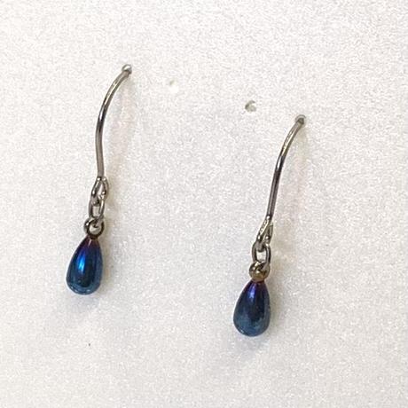 Mystery  blue  drop フック