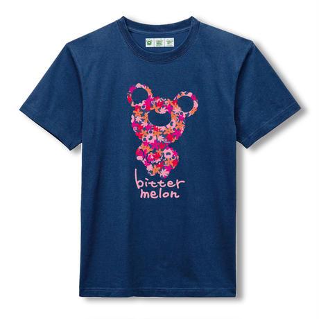 t-shirts(leaf pink×navy)