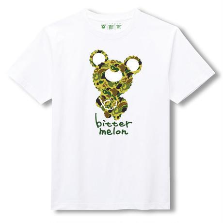 t-shirts(camoufla green×white)