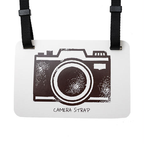 畳縁カメラストラップ  (Ume)