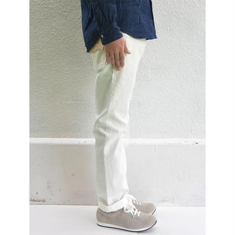 orslow 107 IVY FIT JEANS WHITE MENS