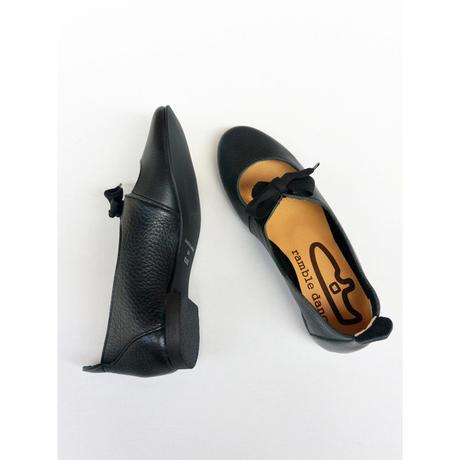 【期間限定商品】ramble dance ランブルダンス ribon Shoes Black
