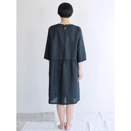 fog linen work   カミーユ ワンピース ニュイ LWW908-1348