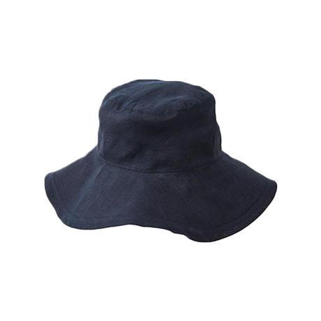 fog linen work フォグリネンワーク ロージュ リネンハット ニュイ(濃紺)