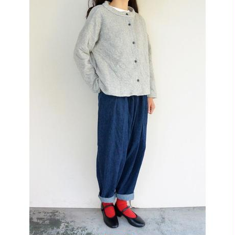 yuino Denim PLEATED PANTS