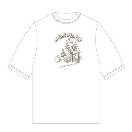N.P.-Tシャツ(ビッグシルエット /ホワイト)