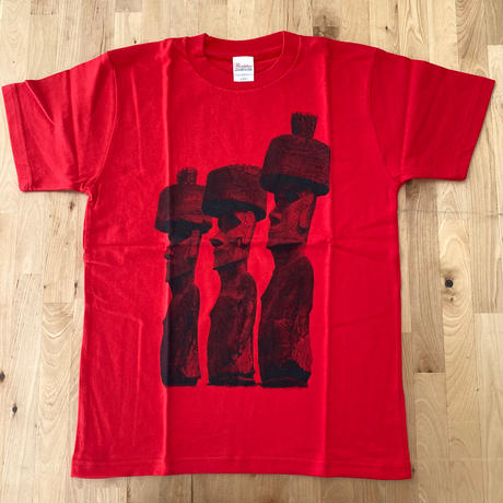 【DeadStock】20th T-Shirts(MOAI) /Red