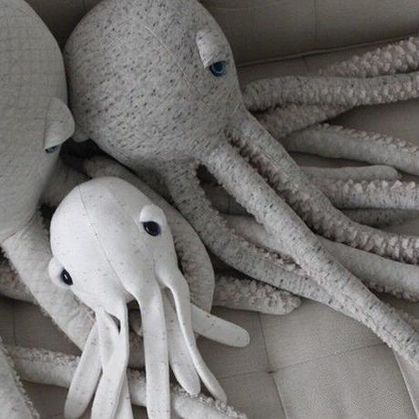 Big Stuffed //  MINI Albino Octopus