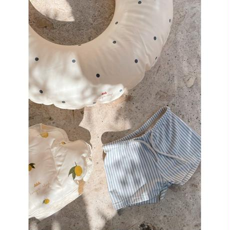 Konges Sloejd / ASTER UNISEX SWIM PANTS・LIGHT BLUE STRIPE