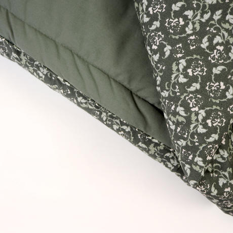 garbo&friends   *Floral Moss Filled* Blanket ブランケット