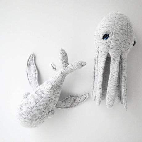 Big Stuffed  *     MINI GrandPa Octopus
