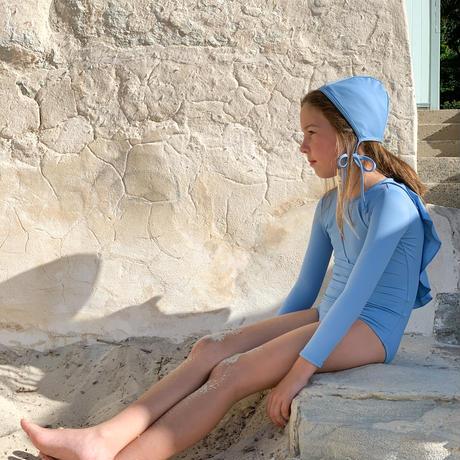 Casa blue swim /  PALMA SWIMSUIT・BLUE